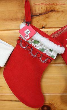 iLoveToCreate Blog: iLoveToCreate Retrofabulous Christmas Craftabration: Bedecked Holiday Stocking!