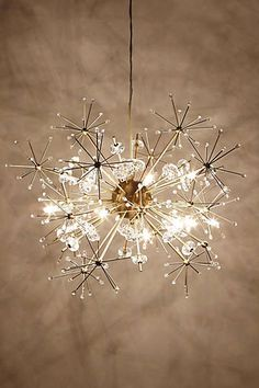 Anthropologie - Dandelion Orbit Chandelier