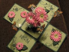 Butterfly Magic Box by Katstamperupper - Cards and Paper Crafts at Splitcoaststampers