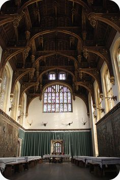 Hampton Court Palace, dining room  been there