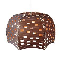 CartonPlanet – Checked 6  cardboard lamp