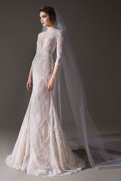 The FashionBrides is the largest online directory dedicated to bridal designers and wedding gowns. Muslim Wedding Dresses, White Wedding Dresses, Bridal Dresses, Wedding Gowns, Kebaya Wedding, Classic Wedding Dress, Beautiful Gowns, Bridal Collection, Pretty Dresses