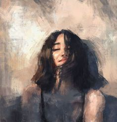 Image about girl in Art by 𝑖'𝑚 𝑗𝑢𝑠𝑡 𝑖𝑟𝑟𝑒𝑙𝑒𝑣𝑎𝑛𝑡 - Art Drawings Art Sketches, Art Drawings, Photographie Portrait Inspiration, Arte Sketchbook, Portrait Art, Aesthetic Art, Painting & Drawing, Hair Painting, Art Inspo