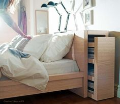 Beau IKEA Bedroom Love The Idea Of Shelves Behind Headborad And ... | L. Inner  Sanctum Defined Herein And Enclosed Within, I Will Sleep Beside My Beloved.