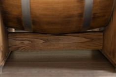 barrel coffee table De-Kor - close up