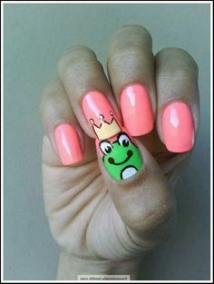 Nail Art Design Ideas For Kids With Short Nails