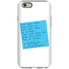 Grey's Anatomy: Sticky Note iPhone 6/6s Tough Case