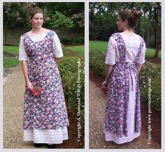 Edwardian Apron Pattern-edwardian apron, apron pattern, sense and sensiblity, pattern for an apron, sewing pattern
