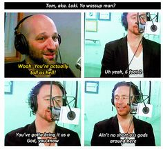 Tom Hiddleston hahaha