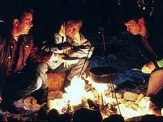 Bones, Kirk and Spock have a camp-out in Yosemite while on shore leave in 'Star Trek V: The Final Frontier.'