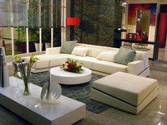 L sofa and Ottoman - modern - sofas - toronto - Limitless Outdoor Sectional, Sectional Sofa, Couch, L Sofas, Modern Sofa, Outdoor Furniture, Outdoor Decor, Ottoman, Living Room