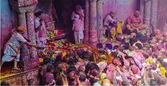 Holi celebrations in India & best places to visit on Holi festival. Holi special events in Madhura, Vrindavan, Barsana, Mumbai and Jaipur. Happy Holi Quotes, Happy Holi Images, Holi Celebration, Festival Celebration, Hindu Festivals, Indian Festivals, History Of Holi, Happy Holi Picture, Holi Pictures