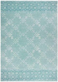 Inspirerend  Vintage vloerkleed blauw. Tapijt Centrum Door ...