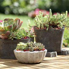 Jennifer Adams Design Tips and Trends: Design Tips: DIY Concrete Landscape Ornaments