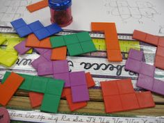 use pentominoes to teach area and perimeter