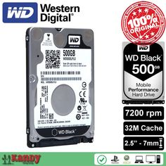 Western Digital WD Black 500GB hdd 2.5 SATA disco duro laptop internal sabit hard disk drive interno hd notebook harddisk disque //Price: $84.41//     #storecharger