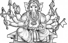 Ancient India Coloring Pages
