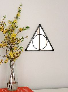 This entry hall mirror. | 23 Of The Best Harry Potter Home Decor Ideas