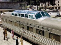 Burlington Silver Dome Train 1947