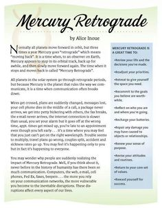 If everything is falling apart more and more, check to see if Mercury is in retrograde, because it probably is. Astrology Planets, Astrology Numerology, Astrology Zodiac, Pisces, Zodiac Signs, Learn Astrology, Capricorn Traits, Astrology Chart, Aquarius