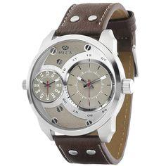 marea b21158-02 ανδρικό ρολόι με διπλή ένδειξη ώρας