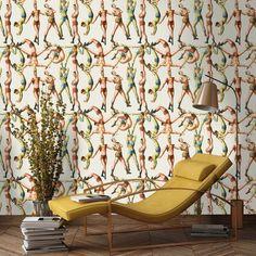 Acrobats Wallpaper - Roll
