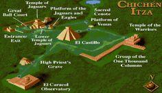 """Los múltiples y monumentales edificios de la gran explanada de Chichén Itzá están presididos por la Pirámide de Kukulcán, llamado por muchos """"el Castillo"""", uno de los edificios más notables de la arquitectura maya."""