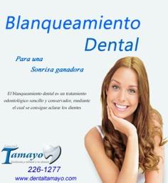 Dentistas de Lima de Dental Tamayo nos comentan del blanqueamiento dental