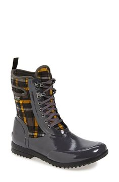 d36aa2fa3034 Bogs  Sidney  Lace-Up Waterproof Boot (Women) available at  Nordstrom