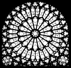 rosace window cathedrale - Google Search