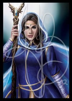 WOT  Moiraine by ReddEra.deviantart.com on @DeviantArt. Lady Moiraine Damodred, Aes Sedia of the Blue Ajah. Art by Ariel B.