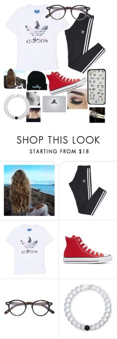 """""""~ somethin' like a ziplock put a lip lock want you wrapped round my arm like a wristwatch ~"""" by moeburgs17 ❤ liked on Polyvore featuring adidas, adidas Originals, Converse, Moscot and Lokai"""