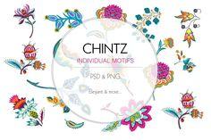 Chintz Print Design by TSTUDIO on @creativemarket