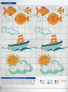 ru / Фото - Disney a punto croce - Chispitas Cross Stitch Sea, Cross Stitch For Kids, Cross Stitch Needles, Cute Cross Stitch, Cross Stitch Borders, Cross Stitch Alphabet, Cross Stitch Animals, Cross Stitching, Cross Stitch Embroidery