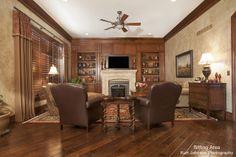 Sitting Area in Kansas Home http://www.kurtjohnsonphotography.com/