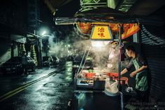 Night food stall #Taiwan