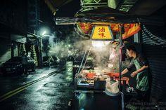 Night food stall #Taiwan