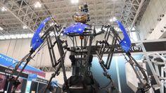巨大ロボに乗る夢をかなえてくれる動作拡大型スーツ「スケルトニクス」