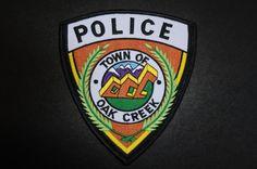 Oak Creek Police Patch, Routt County, Colorado (Vintage)
