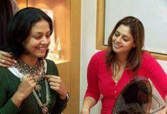 Rare photo of Jyothika and her sister Nagma