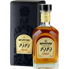 Angostura 1919 Drinks Alcohol, Alcoholic Drinks, Trinidad Y Tobago, Strong Drinks, Wellness Plan, Cellar, Whiskey Bottle, Nostalgia, Packaging