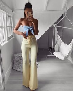 56+ Outfits con Pantalones Palazzo para lucir con Estilo (2019)