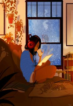 Kai Fine Art is an art website, shows painting and illustration works all over the world. Illustrator, Alone Art, Pascal Campion, Yarn Bombing, Cute Illustration, Aesthetic Art, Art Girl, Amazing Art, Character Art