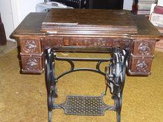 Lot #33 - Antique Treadle Sewing Machine