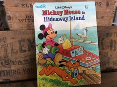 Vintage Estate 1980 Walt Disney's Mickey Mouse in by MADVintology, $6.00