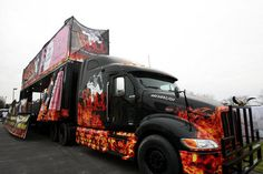 BA BBQ turns 18-wheeler into food truck with 10 grills, wood ...