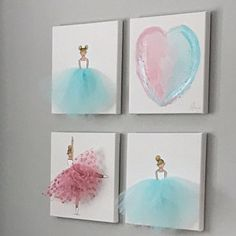 Items similar to Baby Girl Nursery Decor Ballerina Art Baby Girl Nursery Wall Art Girl Nursery Art Ballet Art Ballerina Painting Dancer Painting Purple Pink on Etsy