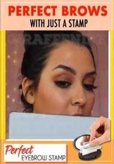 Eyebrow Makeup Tips, Beauty Makeup, Hair Makeup, Hair Beauty, Facial Treatment, Eyebrow Stamp, Perfect Brows, Grow Hair, Shopping