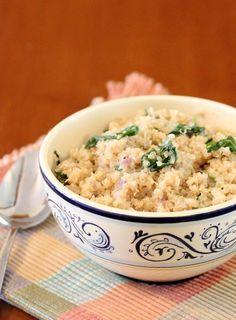 Spinach Parmesan Quinoa (3)