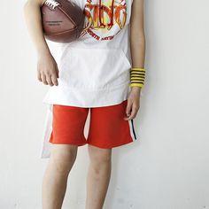LIPOP - BRAND - Korean Children Fashion - #Kfashion4kids - Two-Tone Jul Pants